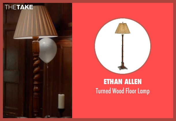 Ethan Allen lamp from Vampire Academy seen with Unknown Actor (Unknown Character)