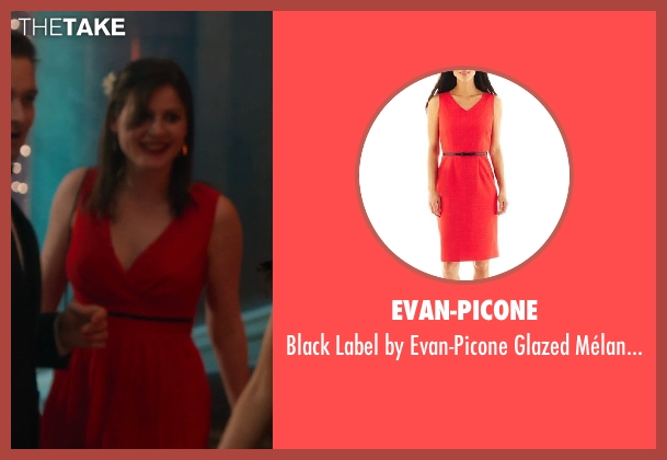 Evan-Picone red dress from Vampire Academy seen with Unknown Actor (Unknown Character)
