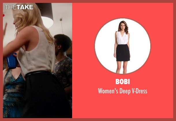 Bobi white v-dress from Vampire Academy seen with Unknown Actor (Unknown Character)