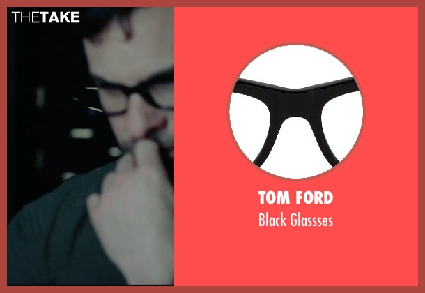 Tom Ford black glassses from Vice seen with Unknown Actor (Unknown Character)