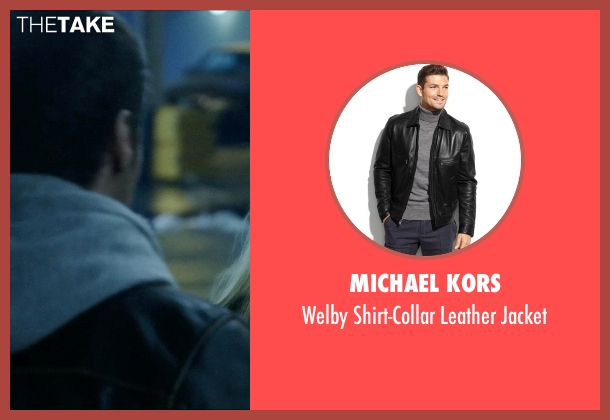 Michael Kors black jacket from Vice seen with Unknown Actor (Unknown Character)