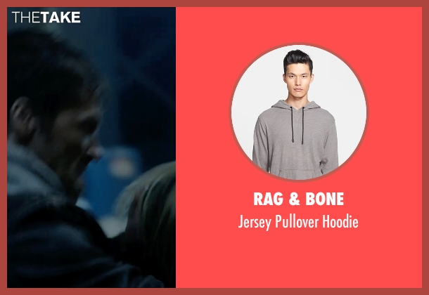 Rag & Bone gray hoodie from Vice seen with Unknown Actor (Unknown Character)