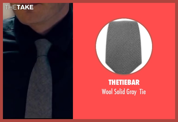TheTieBar gray tie from Walk of Shame seen with Unknown Actor (Unknown Character)