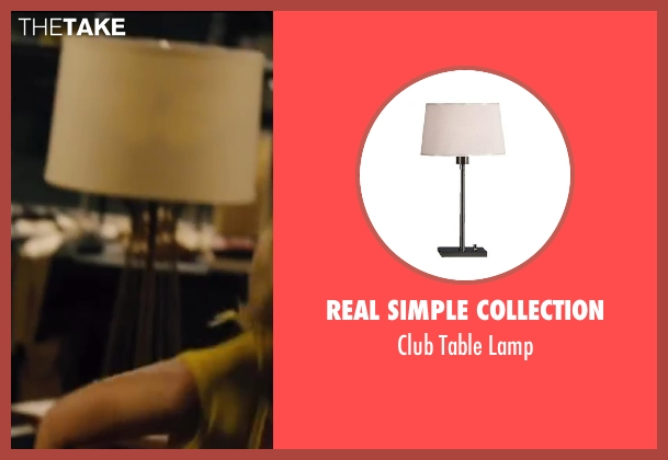 Real Simple Collection white lamp from Walk of Shame seen with Unknown Actor (Unknown Character)