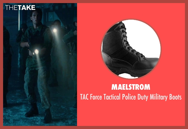 Maelstrom black boots from Warm Bodies seen with Unknown Actor (Unknown Character)
