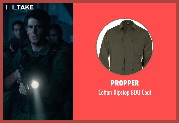 Propper green coat from Warm Bodies seen with Unknown Actor (Unknown Character)