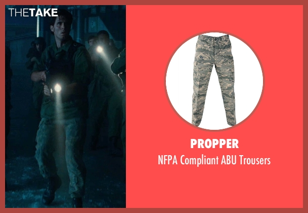 Propper green trousers from Warm Bodies seen with Unknown Actor (Unknown Character)