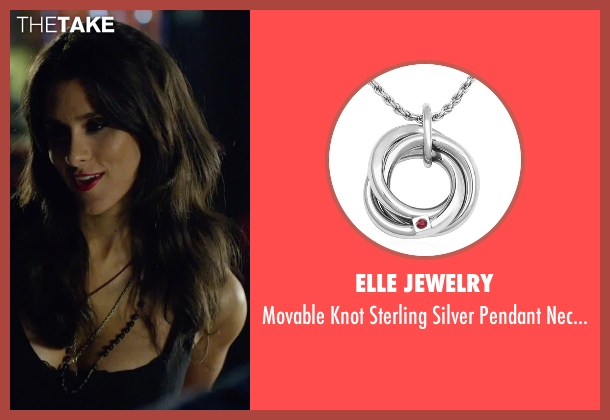 Elle Jewelry silver necklace from We Are Your Friends seen with Unknown Actor (Unknown Character)