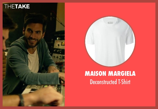 Maison Margiela white t-shirt from We Are Your Friends seen with Unknown Actor (Unknown Character)