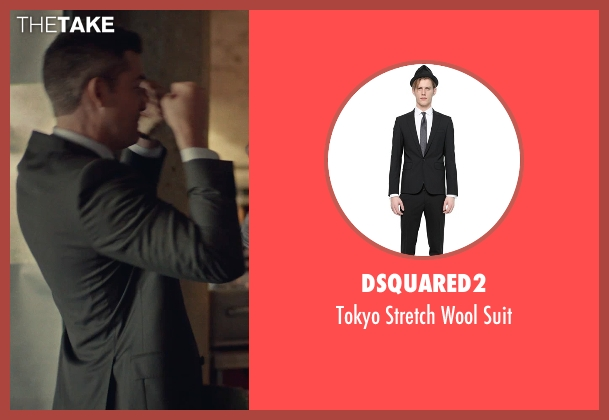 Dsquared2 black suit from While We're Young seen with Unknown Actor (Unknown Character)