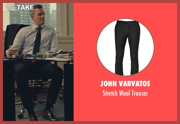 John Varvatos black trouser from While We're Young seen with Unknown Actor (Unknown Character)