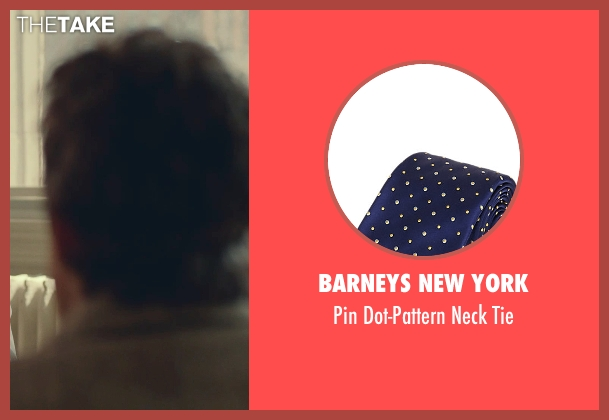 Barneys New York blue tie from While We're Young seen with Unknown Actor (Unknown Character)