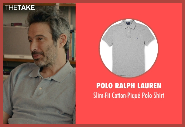 Polo Ralph Lauren gray shirt from While We're Young seen with Unknown Actor (Unknown Character)