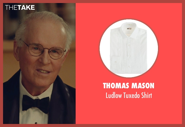 Thomas Mason white shirt from While We're Young seen with Unknown Actor (Unknown Character)