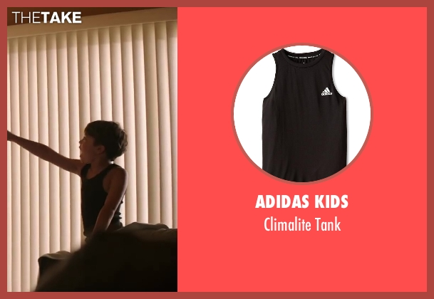 Adidas Kids black tank from Wish I Was Here seen with Unknown Actor (Unknown Character)
