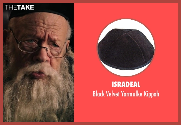 Isradeal kippah from Wish I Was Here seen with Unknown Actor (Unknown Character)