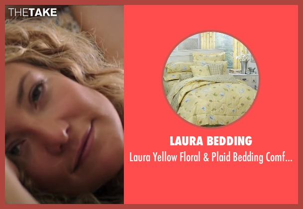 Laura bedding set from Wish I Was Here seen with Unknown Actor (Unknown Character)
