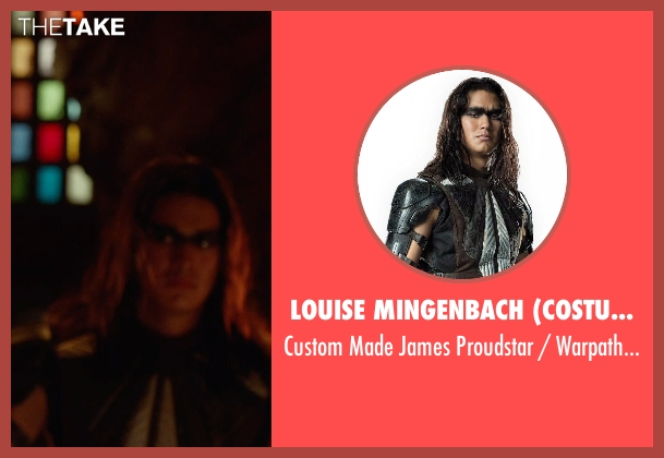 Louise Mingenbach (Costume Designer) costume from X-Men: Days of Future Past seen with Unknown Actor (Unknown Character)