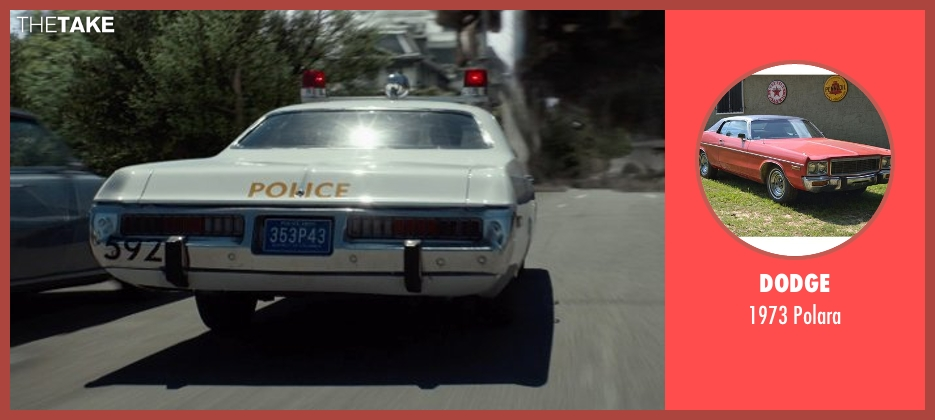 Dodge polara from X-Men: Days of Future Past seen with Unknown Actor (Unknown Character)