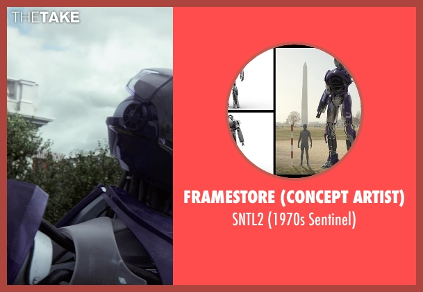 Framestore (Concept Artist) sntl2 from X-Men: Days of Future Past seen with Unknown Actor (Unknown Character)
