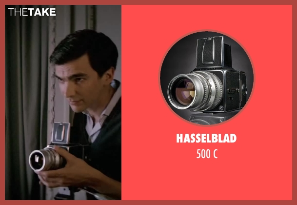 Hasselblad c from Yves Saint Laurent seen with Unknown Actor (Unknown Character)