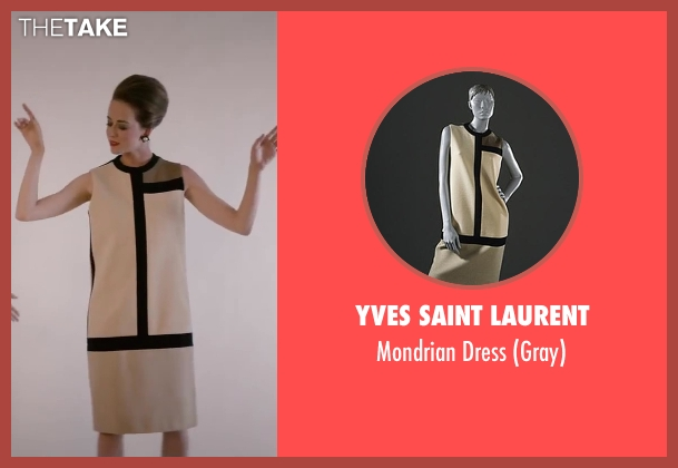 Yves Saint Laurent white dress from Yves Saint Laurent seen with Unknown Actor (Unknown Character)