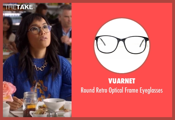 Vuarnet black eyeglasses from American Housewife seen with Unknown Character (Unknown Actor)