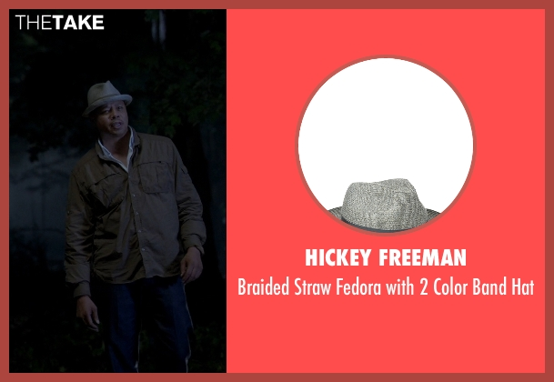 Hickey Freeman gray hat from Empire seen with Unknown Character (Unknown Actor)