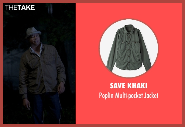 Save Khaki green jacket from Empire seen with Unknown Character (Unknown Actor)