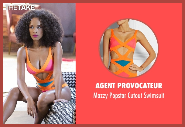 Agent Provocateur swimsuit from Empire seen with Unknown Character (Unknown Actor)