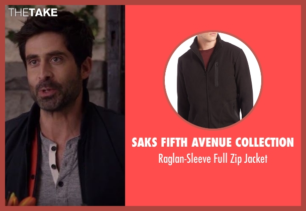 Saks Fifth Avenue Collection black jacket from Imaginary Mary seen with Unknown Character (Stephen Schneider)
