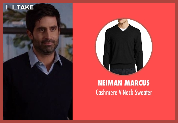 Neiman Marcus  black sweater from Imaginary Mary seen with Unknown Character (Stephen Schneider)