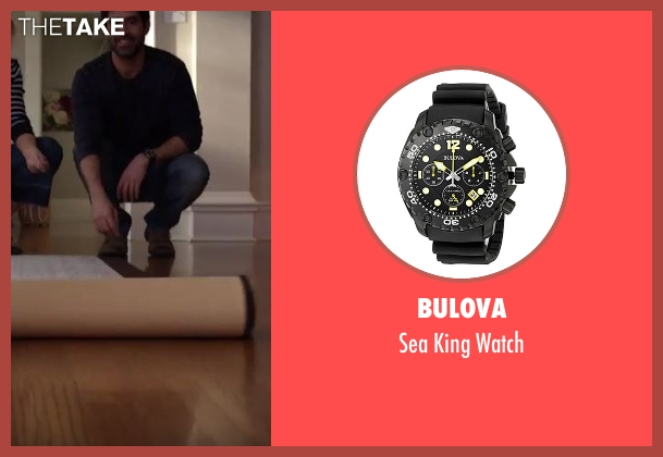Bulova  black watch from Imaginary Mary seen with Unknown Character (Stephen Schneider)