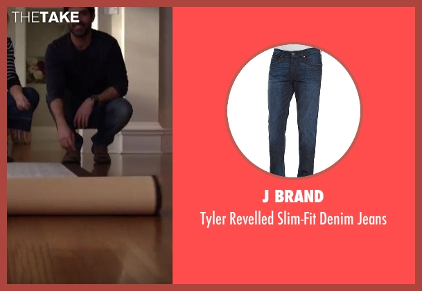 J Brand blue jeans from Imaginary Mary seen with Unknown Character (Stephen Schneider)
