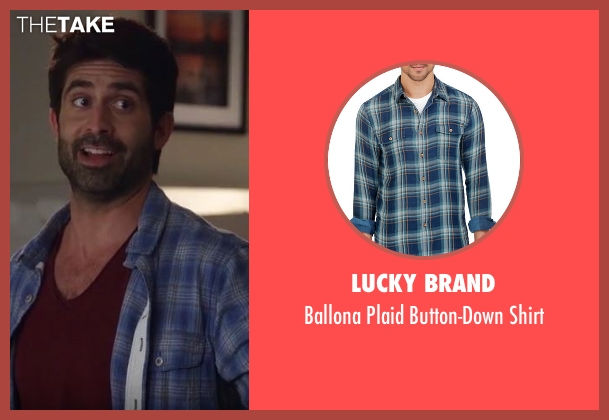 Lucky Brand blue shirt from Imaginary Mary seen with Unknown Character (Stephen Schneider)