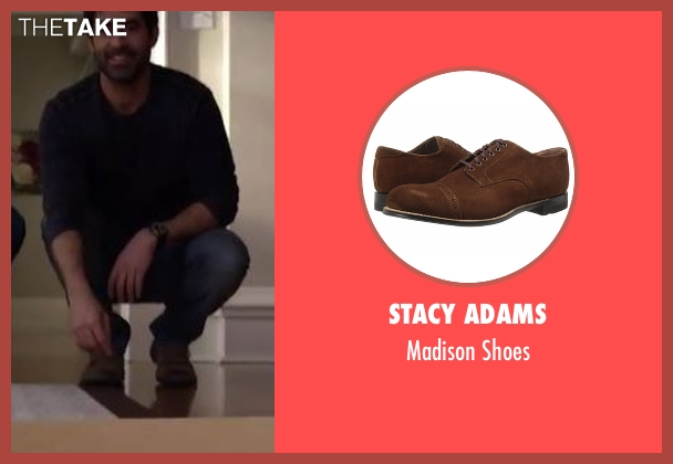 Stacy Adams  brown shoes from Imaginary Mary seen with Unknown Character (Stephen Schneider)