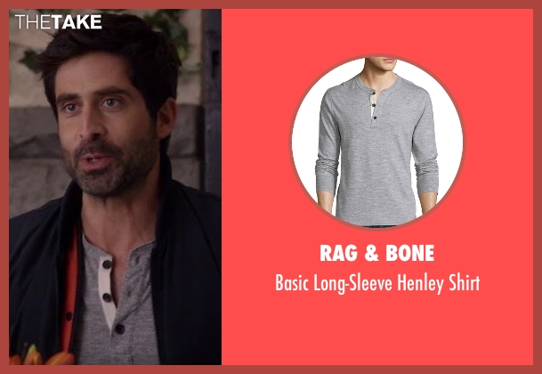 Rag & Bone gray shirt from Imaginary Mary seen with Unknown Character (Stephen Schneider)