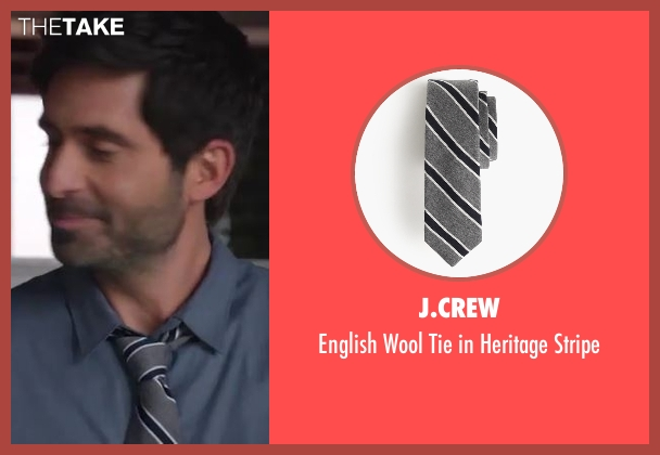 J.Crew gray stripe from Imaginary Mary seen with Unknown Character (Stephen Schneider)