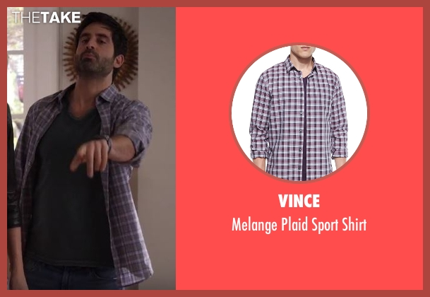 Vince purple shirt from Imaginary Mary seen with Unknown Character (Stephen Schneider)