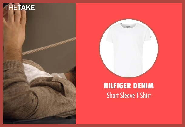 Hilfiger Denim white t-shirt from Lady Dynamite seen with Unknown Character (Jason Mantzoukas)
