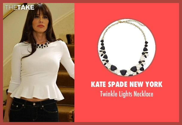 Kate Spade New York black necklace from Modern Family seen with Unknown Character (Lucila Sola)