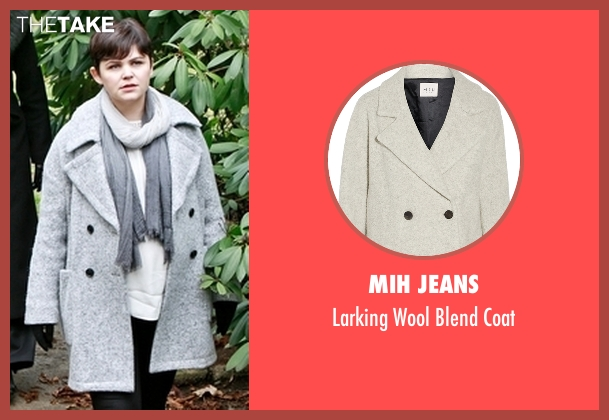Mih Jeans  gray coat from Once Upon a Time seen with Unknown Character (Ginnifer Goodwin)