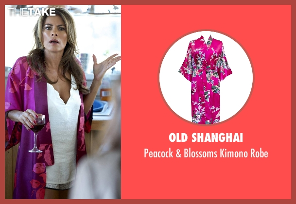 Old Shanghai pink robe from Rosewood seen with Unknown Character (Lisa Vidal)