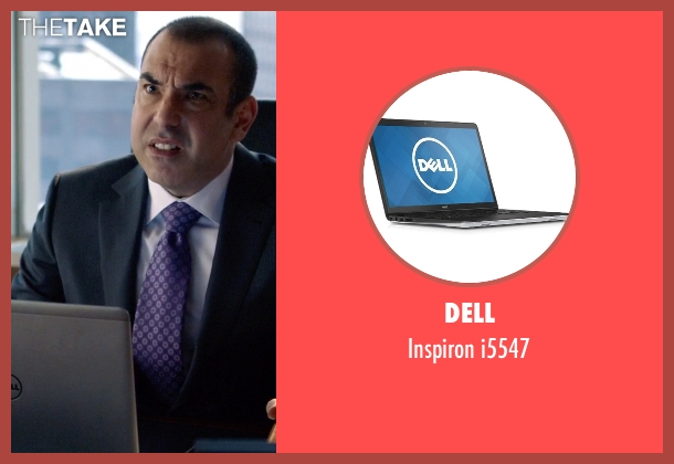 Dell i5547 from Suits seen with Unknown Character (Rick Hoffman)