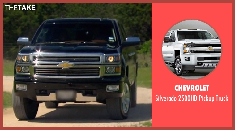 Chevrolet truck from The Bachelorette seen with Unknown Character (Unknown Actor)