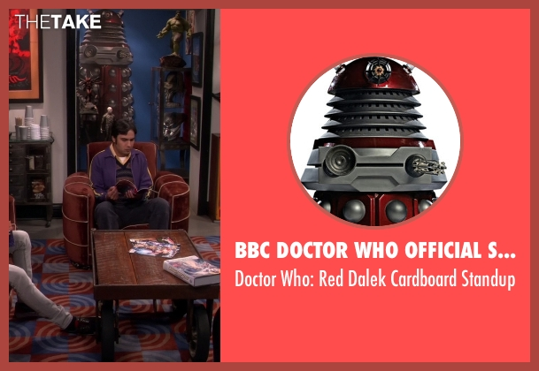 BBC Doctor Who Official Shop standup from The Big Bang Theory seen with Unknown Character (Unknown Actor)