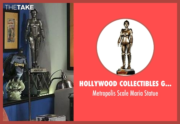 Hollywood Collectibles Group statue from The Big Bang Theory seen with Unknown Character (Unknown Actor)