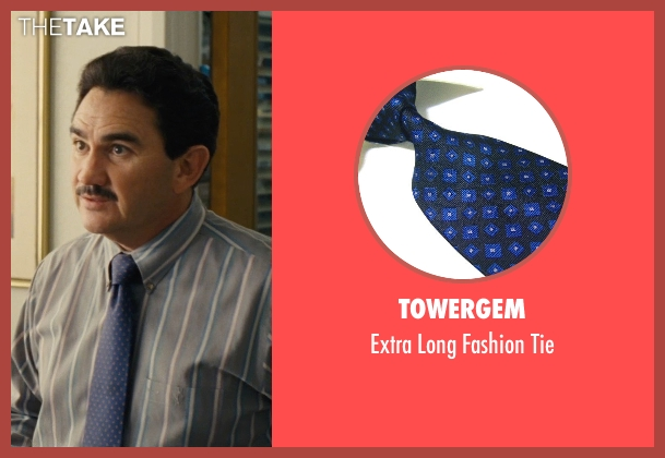 Towergem blue tie from McFarland, USA seen with Valente Rodriguez (Principal Camillo)