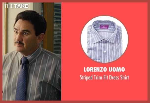 Lorenzo Uomo gray shirt from McFarland, USA seen with Valente Rodriguez (Principal Camillo)
