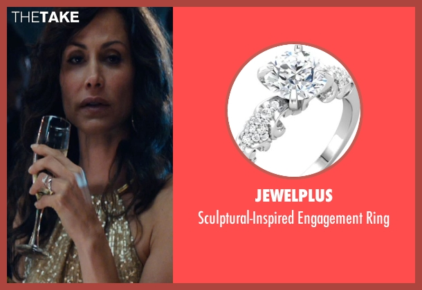 Jewelplus silver ring from The Loft seen with Valerie Cruz (Barbara Stevens)